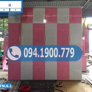 Tủ nhựa quần áo 6 buồng kịch trần TNL6.2