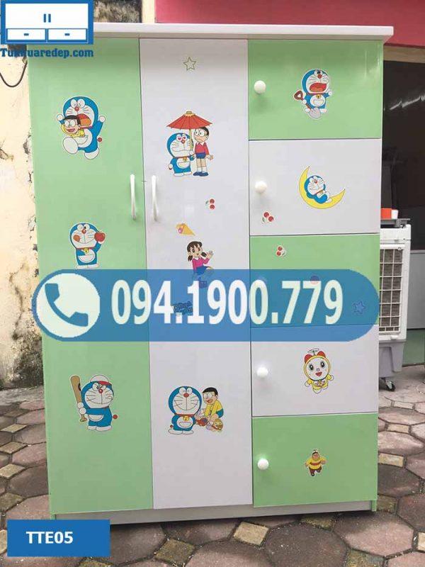 tủ nhựa quần áo cho trẻ em rẻ đẹp