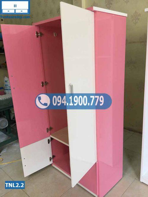 Tủ nhựa quần áo người lớn 2 cánh(buồng) 2 hộc TNL2.2