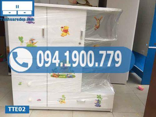 tủ nhựa quần áo trẻ em giá rẻ
