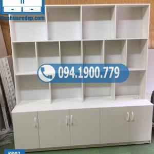 Kệ nhựa để đồ 4 tầng 14 ô KĐ02