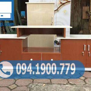 Kệ nhựa để tivi kết hợp tủ đựng đồ KĐ03