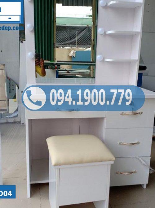 Bàn trang điểm nhựa Đài Loan 3 ngăn kéo BTD04