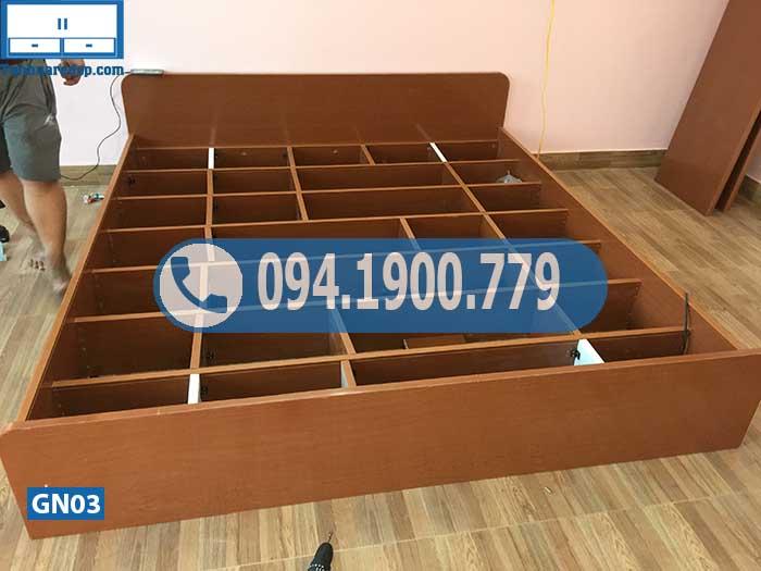Giường ngủ nhựa Đài Loan cỡ lớn GN03