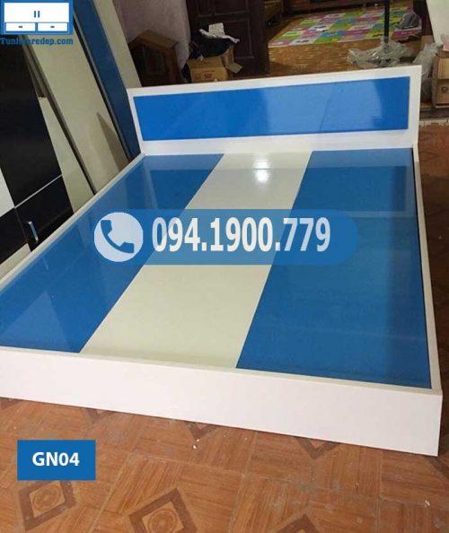 Giường ngủ bằng nhựa Đài Loan kiểu cơ bản GN04